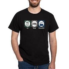 Eat Sleep Compositor T-Shirt