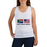 South African American Women's Tank Top