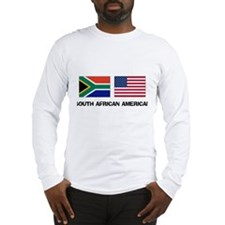 South African American Long Sleeve T-Shirt