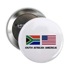 "South African American 2.25"" Button"