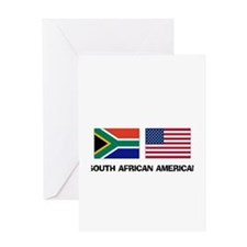 South African American Greeting Card