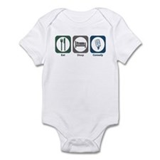 Eat Sleep Comedy Infant Bodysuit