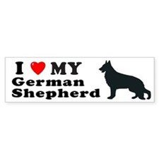 GERMAN SHEPHERD Bumper Bumper Sticker
