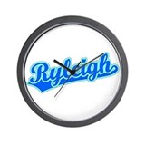 Retro Ryleigh (Blue) Wall Clock