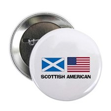 "Scottish American 2.25"" Button (10 pack)"