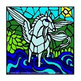 Pegasus the Flying Horse Tile Coaster