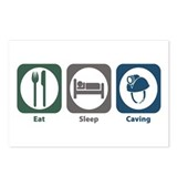 Eat Sleep Caving Postcards (Package of 8)