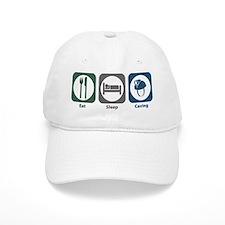 Eat Sleep Caving Baseball Cap