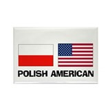 Polish American Rectangle Magnet (10 pack)