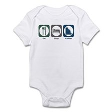 Eat Sleep Cashier Infant Bodysuit