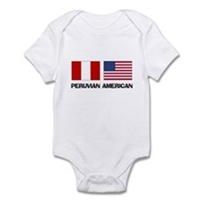 Peruvian American Infant Bodysuit
