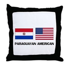 Paraguayan American Throw Pillow