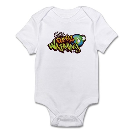 Stop Global Warming - Graffit Infant Bodysuit