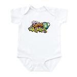 Stop Global Warming - Graffit Infant Bodysuit