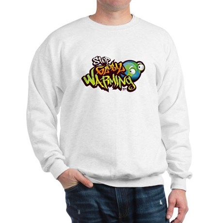 Stop Global Warming - Graffit Sweatshirt