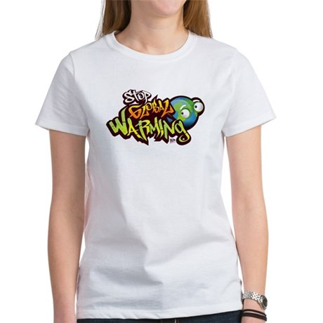 Stop Global Warming - Graffit Women's T-Shirt