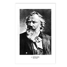 Brahms Postcards (Package of 8)
