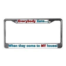 Chef Juke License Plate Frame