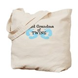 New Grandma Twin Boys Tote Bag