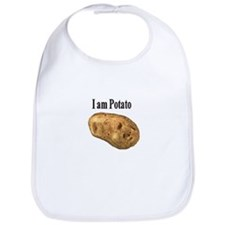 Funny Potatoes Bib
