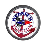 Redneck Yacht Club Wall Clock