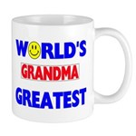 """WORLD'S GREATEST GRANDMA Mug"