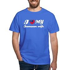 I love my Samoan Wife T-Shirt