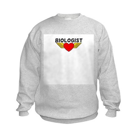 Biologist Kids Sweatshirt