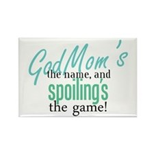 Godmom's the Name! Rectangle Magnet (100 pack)