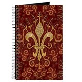 Fleur de Lis Treasure Journal