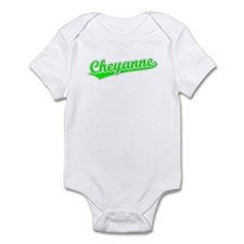 Retro Cheyanne (Green) Infant Bodysuit