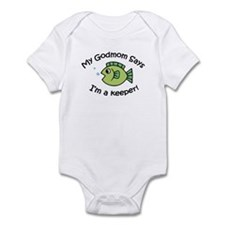 GodMom Says I'm a Keeper! Infant Bodysuit