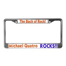 Quatro Rocks License Plate Frame