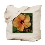 Great Grandma Hibiscus Tote Bag