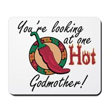 Looking at One Hot Godmother Mousepad