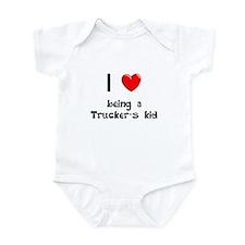 Trucker Infant Bodysuit