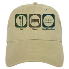 Eat Sleep Bookbinding Baseball Cap