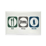 Eat Sleep Bonds Rectangle Magnet (100 pack)