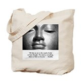 What we think we become. Tote Bag
