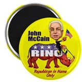 "Mc Cain Rino 2.25"" Magnet (10 pack)"