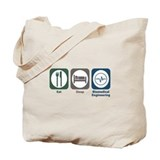Eat Sleep Biomedical Engineering Tote Bag