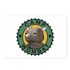 Camp Wombat Postcards (Package of 8)