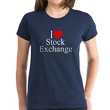 """I Love (Heart) Stock Exchange"" Tee"