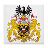 Lubeck Coat of Arms Tile Coaster