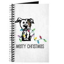 Pit Bull Christmas Lights Journal