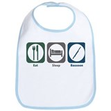 Eat Sleep Bassoon Bib