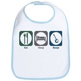 Eat Sleep Banjo Bib