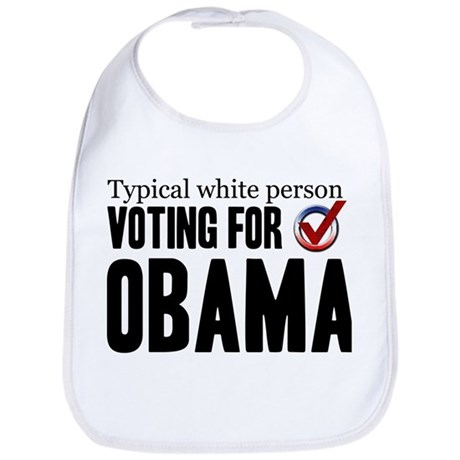 Typical White Person Bib
