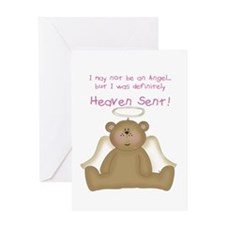 Heaven Sent Greeting Card