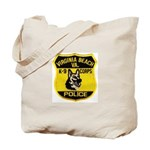 VA Beach PD Canine Tote Bag